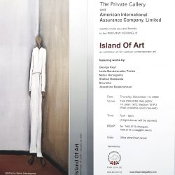 2006, Invitation - Island of Art