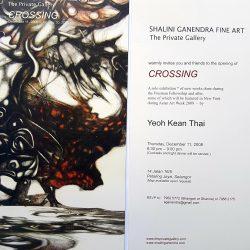 2008, Invitation - Crossing by Yeoh Kean Thai
