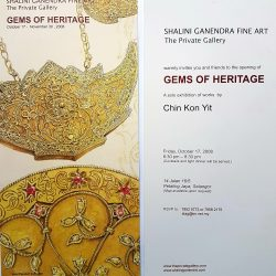 2008, Invitation - Gems of Heritage by Chin Kon Yit
