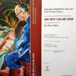 2008, Invitation - Sir Roy Calne